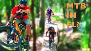 Mountain biking Alafia, FL - The first place I...
