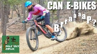 CAN E-BIKES BRAP? MTB test ride Specialized...