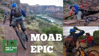 MTB MOAB - Porcupine Rim Trail with Seth's...