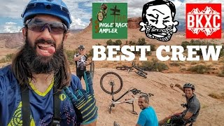 MTB MOAB -  Slick Rock Trail with Seth's Bike...
