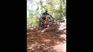 Rocky Knob Mountain Bike Park - lower PB&J...