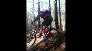 MTB fun - Roll for speed, huck for fun, manual...