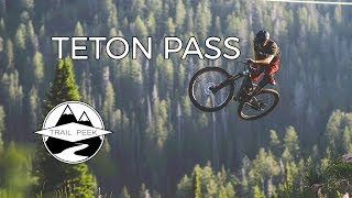 Sending it on Teton Pass! - Mountain Biking...