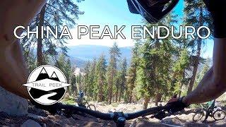 China Peak Enduro - Stage 5 Practice -...