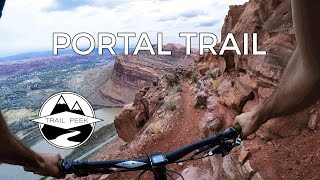 DON'T LOOK DOWN - Mountain Biking Portal Trail...