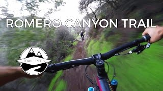 Mountain Biking Santa Barbara - Romero Canyon