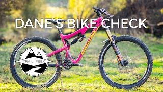 Dane's Santa Cruz Bronson CC Bike Check