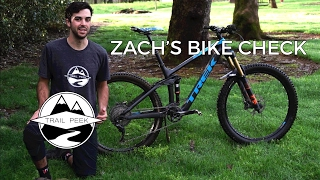 Zach's 2017 Trek Remedy 9.8 Bike Check