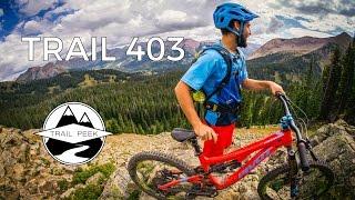 Mountain Biking Crested Butte, Colorado -...