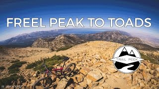 Mountain Biking Tahoe California - Freel Peak...