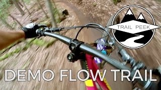 Mountain Biking the Demo Flow Trail - Santa...
