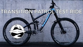 2017 Transition Patrol Carbon - Test Ride