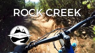 Mountain Biking Rock Creek in Georgetown...
