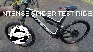 2017 Intense Spider 275C - Test Ride