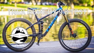 2017 Trek Remedy 9.8 - Test Ride