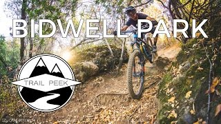 Mountain Biking Chico California at Bidwell...