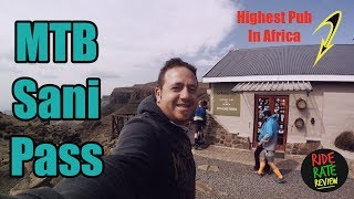 Highest Pub In Africa | Mountain Biking the...