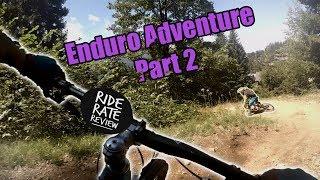 Enduro MTB Adventure To Flaine Part 2 |...