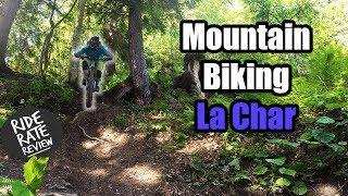 La Char   Mountain Biking Samoëns, France