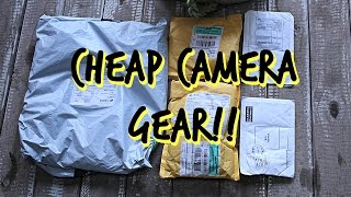 Cheap Chinese Action Camera Gear