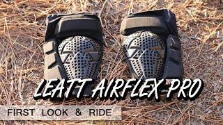 On Bike Review LEATT AirFlex Pro knee guard