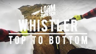 WHISTLER TOP TO BOTTOM // 40 Minutes Raw