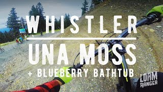 UNA MOSS // Whistler Mountain Bike Park