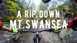 A Rip Down Mt.Swansea