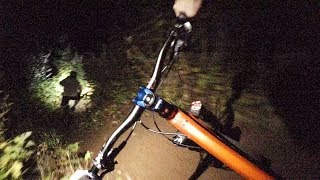 Night Riding for the first time! - Nitecore...