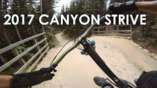 SHREDDING with a 2017 Canyon Strive CF -...