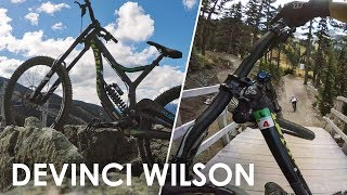 Testing out a Devinci Wilson - Whistler Bike...