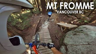 AMAZING DAY Freeriding North Shore | Mt Fromme...