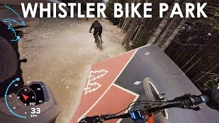 I Finally hit up the Whistler Bike Park! -...
