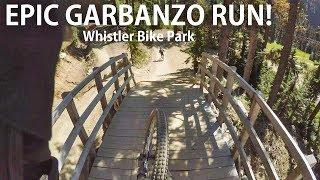EPIC Garbanzo Run at the Whistler Bike Park -...