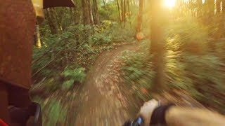 Evening Freeride at my local trails! - Gopro
