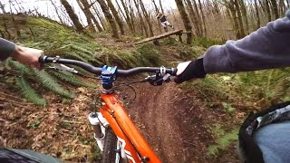 GoPro Freeride Shredding the local MTB trails!
