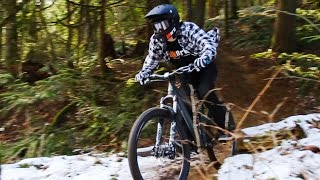 Winter Shred on the Blk Mrkt Killswitch with...