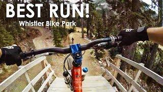 The Best Freeride MTB Line Down Whistler Bike...