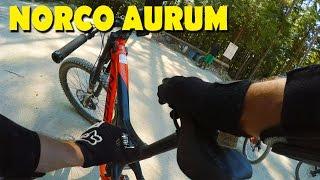 Coast Gravity Bike Park - Riding a Norco Aurum!