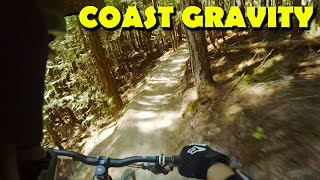 Coast Gravity Bike Park - Devils Elbow GoPro...