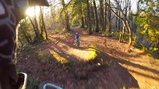 GoPro Freeride mtb at ledgeview