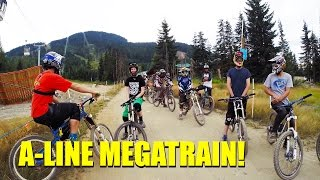 A-Line Megatrain - Whistler Mountain Bike Park
