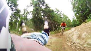 Whistler Bike Park Downhill A-Line Crash -...