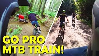 Freeride GoPro - Downhill MTB Train !!!