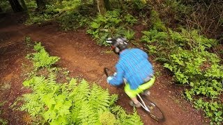 Downhill Freeriding at Vedder Mountain