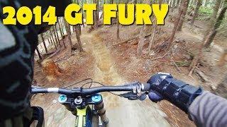 2014 GT Fury Downhill Mountain Biking -...