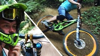 Downhill Mountain Biking - Specialized Demo 8...