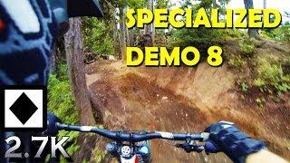 Downhill Mountain Biking - Whistler Bike Park...