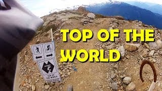 Top of the World - Downhill mtb Trail,...