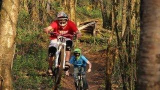 Freeride MTB With Big DH Bikes
